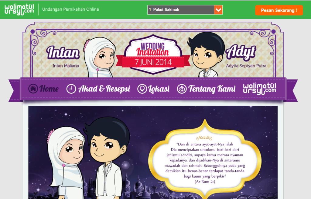 aplikasi undangan online untuk pernikahan