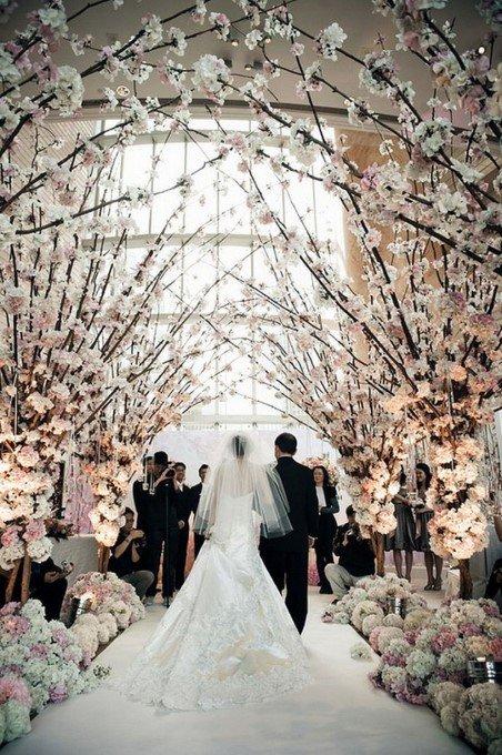 Dekorasi Pernikahan Cherry Blossom Theme 2 Pict