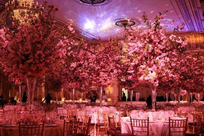 Dekorasi Pernikahan Cherry Blossom Theme Pict
