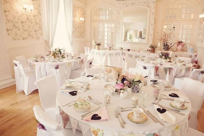 Dekorasi Pernikahan Shabby Chic Wedding Pict