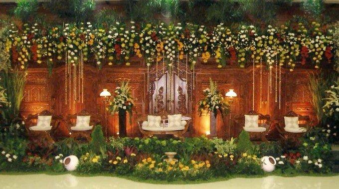Dekorasi Pernikahan Tema Adat Jawa 1 Pict