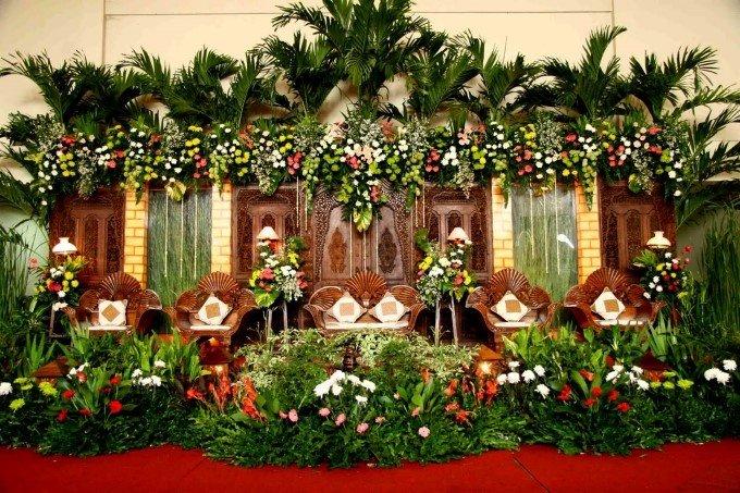 Dekorasi Pernikahan Tema Adat Jawa Pict