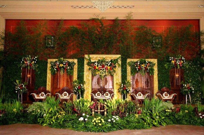 Dekorasi Pernikahan Tema Adat Pict
